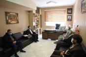 مدیر حوزه علمیه استان با مدیرکل آموزش و پرورش خراسان شمالی دیدار و گفت وگو کرد
