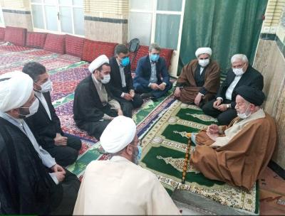 گزارش تصویری دیدار مشاورعالی وزیر با امام جمعه سمنان