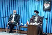 وزیر آموزش و پرورش با نماینده ولی فقیه در استان آذربایجان شرقی دیدار کرد