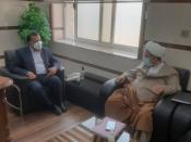 نشست مدیرکل آموزش و پرورش سیستان و بلوچستان با معاون فرهنگی دفتر نماینده ولی فقیه