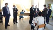 ناظر وزارتی از حوزه های امتحانات نهایی، تکثیر و تصحیح بازدید کرد