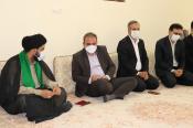 مدیرکل آموزش و پرورش استان ایلام با امام جمعه شهرستان مهران دیدار کرد