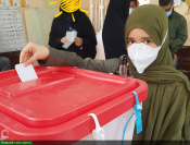 حضور دانش آموزان رای اولی به روایت تصویر