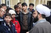 بازدید 6 هزار دانش آموز از مراکز حوزه علمیه و دیدار با علما