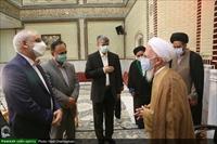 دیدار وزیر آموزش و پرورش با آیت الله العظمی جوادی آملی در دماوند