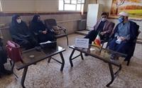 جلسه هماهنگی مدیران و مبلغین مدارس طرح امین شهرستان قدس